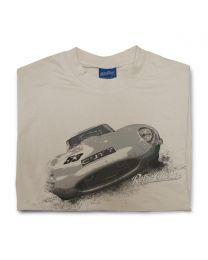 Jag E-type Mens Classic Car T-Shirt