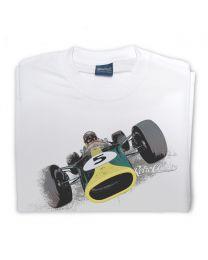 1967 Lotus 49 Mens Classic Sports Car T-Shirt