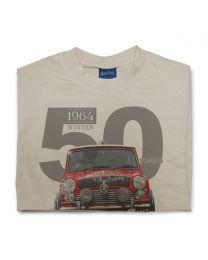 Paddy Hopkirk 50th Anniversary Tee - Sand