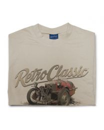 1930s Morgan 3 Wheeler Tee - Sand