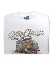 The Rat Crew Simson Motorcycle Tee - White