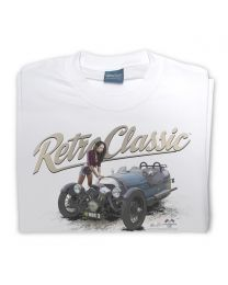 Modern Morgan 3 Wheeler and Chloe Tee - White