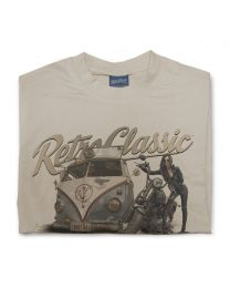 Harley Grunge Bus - Brian's Rust Rat Splittie & Harley Mens T-Shirt