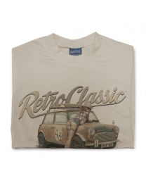 Boris the Rust Bucket Classic Mini and Notonix Tee - Sand