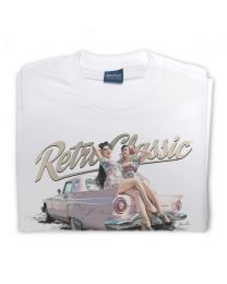 Zelda & K.Von - 1957 Ford Thunderbird Mens T-Shirt