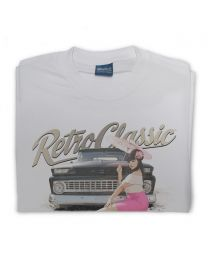 Miss Chelydoll - 1963 Chevy C-10 Long Bed Truck Mens T-Shirt