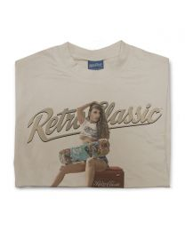 Skateboard Kassie and Vintage Coke Cooler Mens T-Shirt
