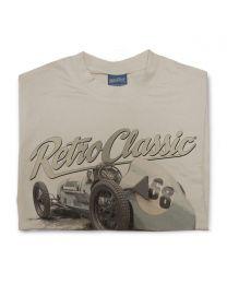 Classic 1935 Austin 7 Kay Petre Replica Race Car Mens T-Shirt