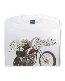 Harley Thunder Bike and Rina Bambina Mens T-Shirt
