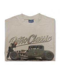 Ford Model A Hot Rod & Rina Bambina Mens T-Shirt