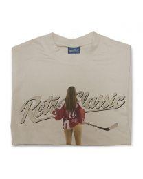 Ice Hockey Pin-up Josie Mens T-Shirt