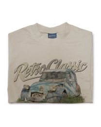 Run-down Citroën 2CV (deux chevaux) Car Mens T-shirt