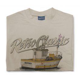 Fishing Boat Mens T-Shirt
