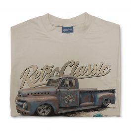 Jack's Shack 1952 ford f100 Monster Pick-Up Truck Mens T-Shirt