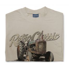 Old Fordson Major Tractor Mens T-Shirt