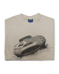 Jag E-type Mens Classic Car T-Shirt