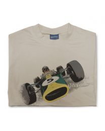1967 Lotus 49 Mens Classic Sports Tee - Sand