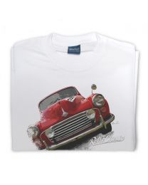 Rally Morris Minor Tee - White