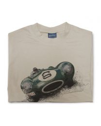 D-Type Jag Classic Sports Car Mens T-shirt