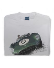 Aston Martin DBR1 Classic Sports Car Mens T-Shirt