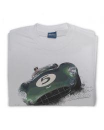 Aston Martin DBR1 Classic Sports Car Mens T-Shirt