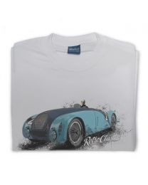 Bugatti 57G Race Car Mens T-Shirt