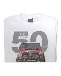 Paddy Hopkirk 50th Anniversary Mens t-shirt