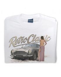 Aston DB5 007 and Sexy Woman Mens T-shirt