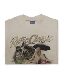 Classic Matchless Motorcycle Tee - Sand