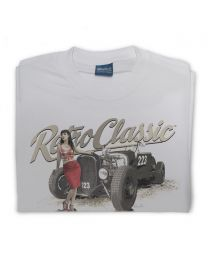 American Hot Rod 223 and Scarlet Fatale Mens T-Shirt