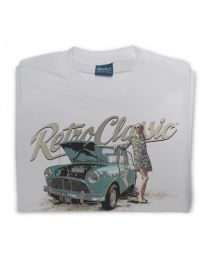 Mini MK2 and 60s Styled Lady Tee - Grey