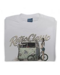 Rusty Rat Camper and Melisa Mendini BMX Riding Mens T-Shirt