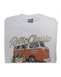 'Timeless' Mark's Retro Bay Window and Camping Gear Mens T-Shirt