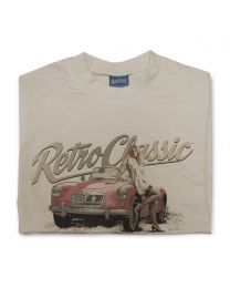 Classic MGA and model Siobhan Tee - Sand
