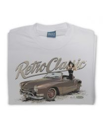 1970 Karmann Ghia - Dave Warren and Adam Allen Collaboration Mens T-Shirt