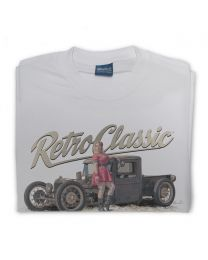 The Dirty Farm Truck and Lillian Starr Tee - Grey