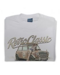 Boris the Rust Bucket Classic Mini and Notonix Mens T-Shirt