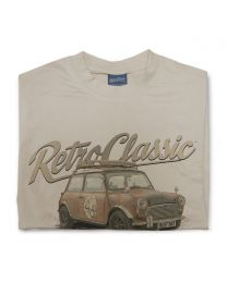 Boris the Rust Bucket Classic Austin Mini Tee - Sand