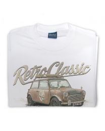 Boris the Rust Bucket Classic Austin Mini Mens T-Shirt
