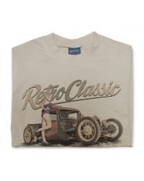 Help Miss Boston Bombshell - Dirty Farm Truck Tee - Sand