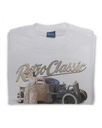 Kassy Buenrostro - 1946 Ratrod Chevy Truck Tee - Grey