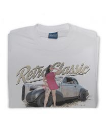 Miss Vamp - 1939 Cadillac Lasalle Coupe Mens T-Shirt