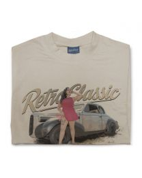 Miss Vamp - 1939 Cadillac Lasalle Coupe Tee - Sand