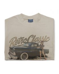 Miss Chelydoll 02 - 1963 Chevy C-10 Long Bed Truck Mens T-Shirt