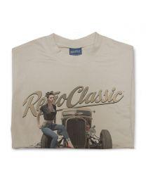 Kiley Hutcheson - 1946 Ratrod Chevy Truck Tee - Sand