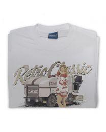 Ice Resurfacer and Ice Hockey Pin-up Model Mens T-Shirt