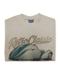 Classic Bugatti Type 57 SC Atlantic Mens T-shirt