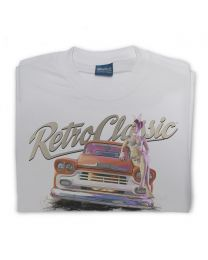 LaRoss Pin-up and Classic American Pick-up Truck Mens T-Shirt