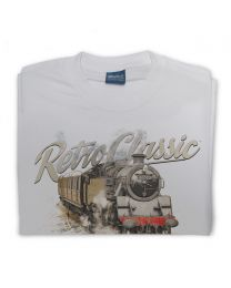 BR Standard Class 4 Steam Train Mens T-Shirt