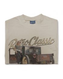 Natalie - Dirty Farm Truck Tee - Sand